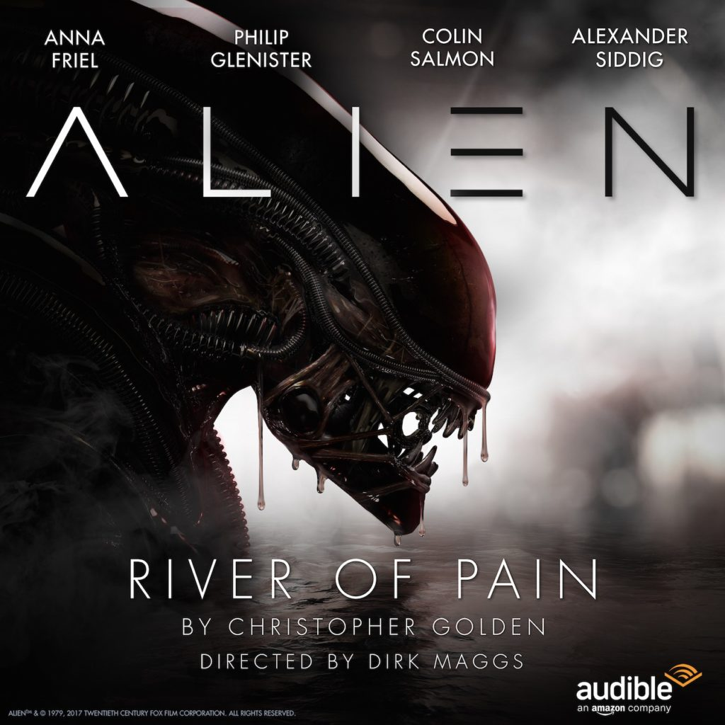 Alien: River of Pain starring Alexander Siddig, Anna Friel, Phillip Glenister, Colin Salmon