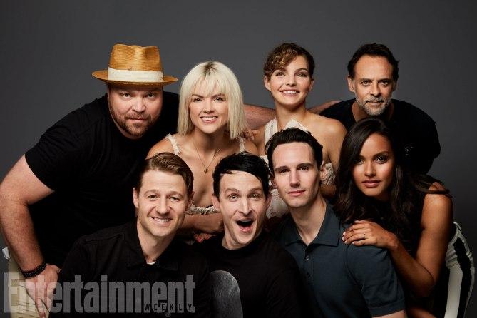 Cast of Gotham @ SDCC @ 2017