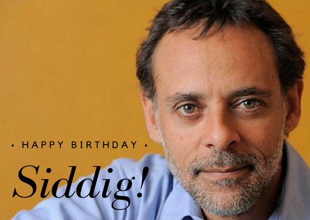 Happy Birthday, Siddig!
